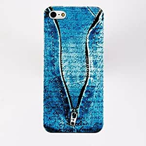 DUR Jeans Pattern TPU Soft Case for iPhone 4/4S , Multicolor