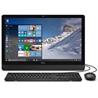 2017 Newest Edition Dell Inspiron 19.5 HD+(1600x900) Premium High Performance Anti-Glare LED-Backlit All in One Desktop, Intel Quad-Core Celeron, 4GB RAM, 500GB HDD, Win10