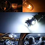 iJDMTOY Premium SMD LED Lights Interior Package Combo for 2005-2010 Dodge Charger, Xenon White
