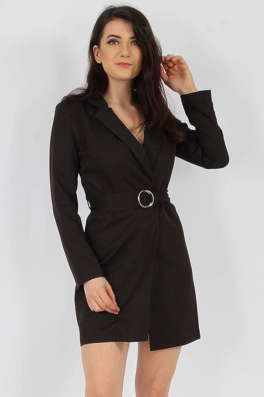 4cd2a90473da Momo&Ayat Fashions Ladies Tailored Tuxedo Blazer Dress UK Size 8-16:  Amazon.co.uk: Clothing