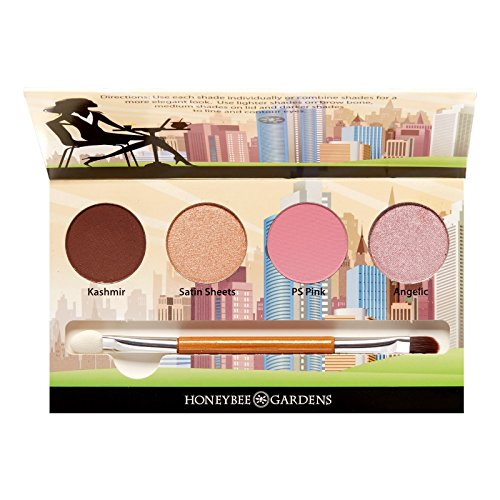Honeybee Gardens Cosmopolitan Eye Shadow Palette | Cruelty F