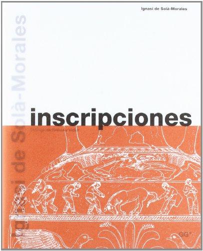 Descargar Libro Inscripciones De Ignasi Ignasi De Sola-morales