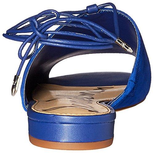 Sam Edelman Tai Wildleder Sandale Blu Nautico