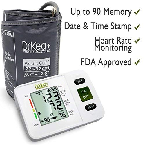 Blood Pressure Arm - Cuff Kit - BP Monitor Pregnancy Blood Kit Home - Bag Included