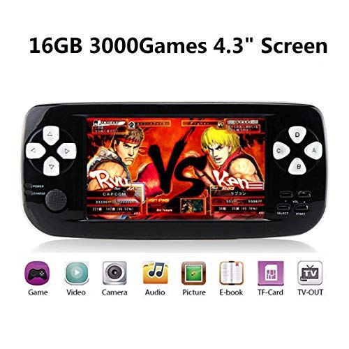 Handheld Game Console, Portable Video Game 4.3