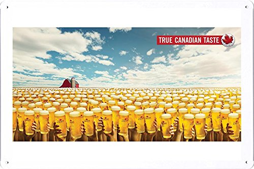 tin-sign-metal-poster-plate-8x12-of-molson-canadian-beer-true-canadian-taste-praries-by-food-beverag