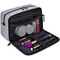 GRM Travel Kit Shaving Kit Dopp Kit Cosmetic Bag Organizer (Grey)