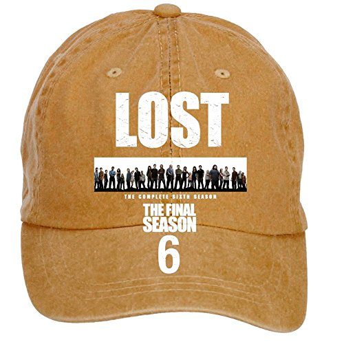 housety-unisex-lost-science-fiction-adventure-tv3-washed-hat-baseball-caps