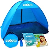 The Best Instant Pop up Sports Beach Tent: Fast and Automatic for Best Family Camping, Fishing, Hiking or Outdoor Picnic. Premium Protective Anti Uv Shelter From Sun, Wind and Other Weather Conditions