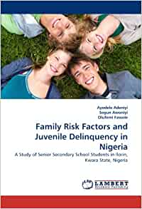 juvenile deliquency in ibadan nigeria Juvenile delinquency refers to the antisocial and criminal behaviour involving individuals below the age of 18 juvenile delinquency has consistently been a problem in the world, nigeria inclusive.