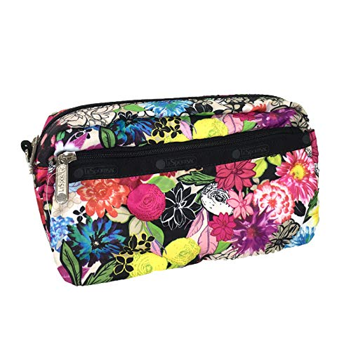 LeSportsac Dream Classic Large Zip Cosmetic Case, Sunlight Floral