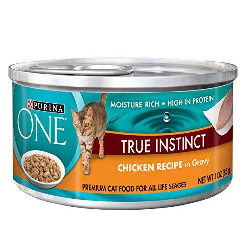 Purina ONE True Instinct In Gravy Wet Cat Food - (24) 3 oz. Cans