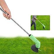 HEITIGN Cortador de grama, telescópico leve e potente cortador de grama sem fio, cortador de grama portátil, m