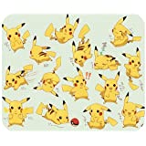 1 X Mystic Zone Personalized Pokemon Pikachu Rectangle Mouse Pad (Black)