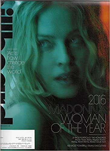 Billboard Magazine (December 10, 2016) Madonna Cover Woman of the