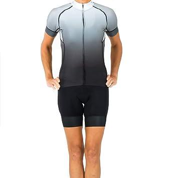 6a78ede9e Amazon.com   Shebeest 2018 Women s Divine Fade Short Sleeve Cycling ...