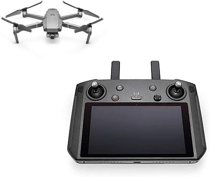 DJI Smart Controller Mejora La Experiencia de Vuelo Negro Control Remoto para Dji Mavic 2 Drone con Micr/ófono y Altavoz Pantalla de 1080P y 5.5 Pulgadas Ultra-Luminosa Transmisi/ón Ocusync 2.0
