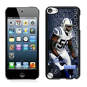 NFL Indianapolis Colts iPod Touch 5 Case YMH90576 NFL Plastic Design Phone Case Cover