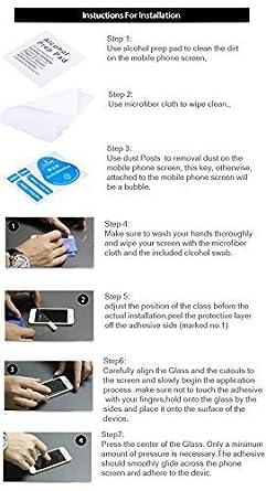 Moto 360 templado protector de pantalla de cristal, cristal de ...