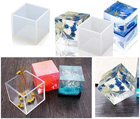 Transparent Silicone Mould Dried Flower Resin Decor Craft DIY diamond Mold TK up