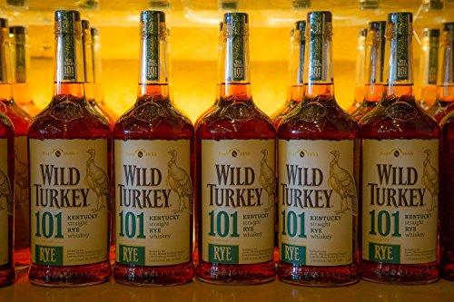 Bourbon Bottles Fine Art Print | Wild Turkey | Whiskey Canvas | Bourbon Whiskey Print | Bourbon Artwork | Man Cave Decor | Pub Decor | Kentucky Bourbon | Bar - Turkey Whiskey