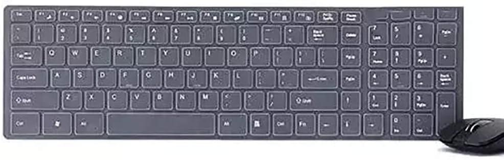 Cigkany Bluetooth Keyboard 2.4G Wireless Keyboard and Mouse Set Ultra-Thin Computer Office Keyboard Small Keyboard Computer Keyboard Color : White, Size : 8.8X11.3X2cm