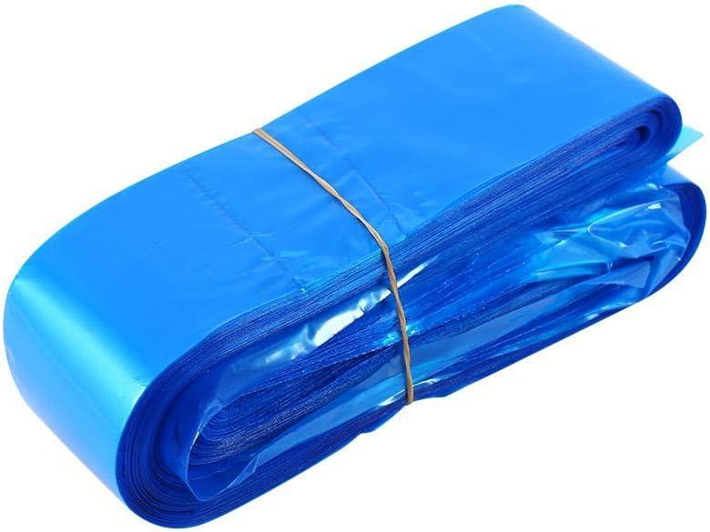 Máquina de tatuaje Clip de manga de cable/Funda, 125 piezas azul desechables de higiene de plástico cubierta de manga de seguridad Bolsa