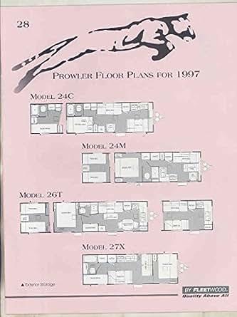 1997 fleetwood prowler floor plan travel