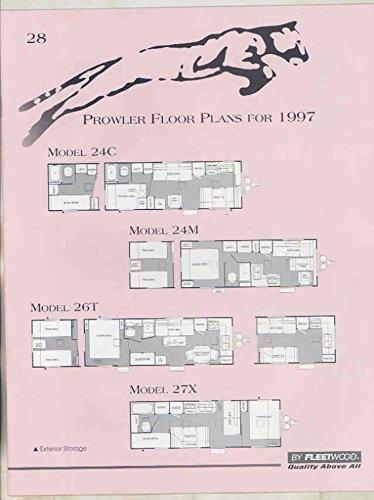 Fleetwood Prowler 5th Wheel Floor Plans | Home Fatare