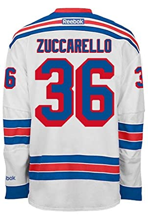Mats Zuccarello New York Rangers NHL Away Reebok Premier Hockey Jersey 0b96ae750