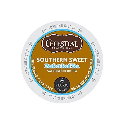 Celestial Seasonings Perfect Iced Tea Southern Sweet Black Tea K-Cups 88ct