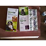 Dog Drontal plus Broad Spectrum Wormer 10kg Dog/tab (20 tabs)