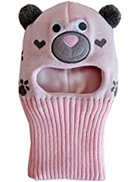 Frost Hats Warm Fleece Lined Toddler Balaclava M-BAL-BEARG Light Pink