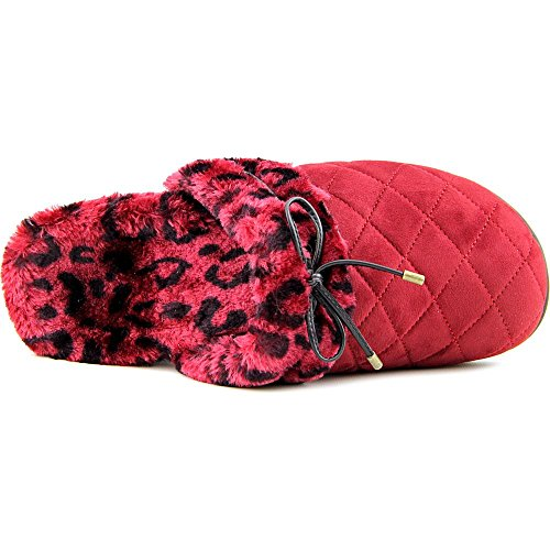 Vionic Pleasant Womens Slippers With Arch Support - Orthaheel Technology Wine tLP5s1aJn