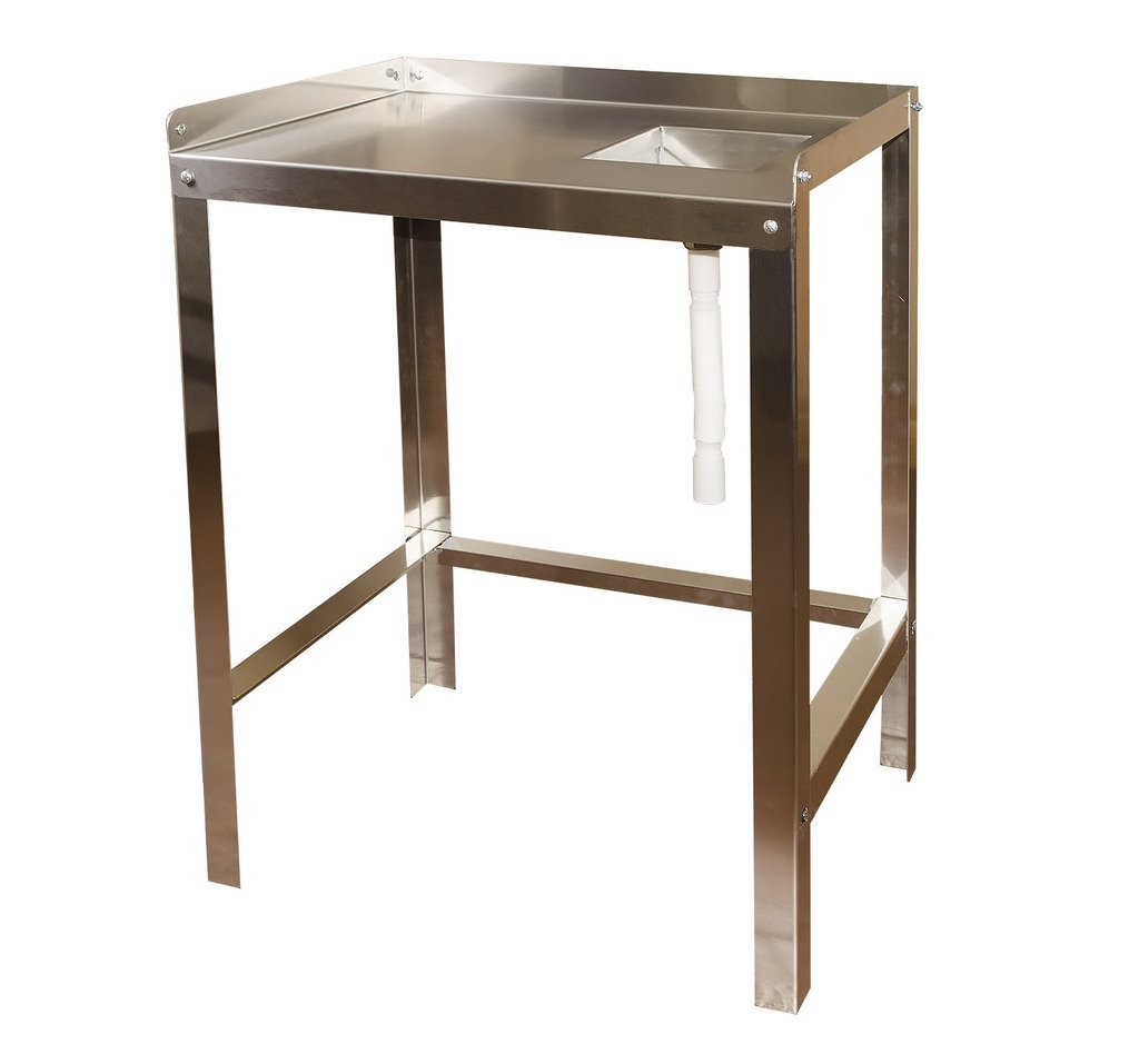 RITE-HITE Stainless Steel Fillet Table With Sink - Made In The USA. Heavy Duty Fillet Table That Is Just The Right Size For Smaller Applications. by Rite Hite