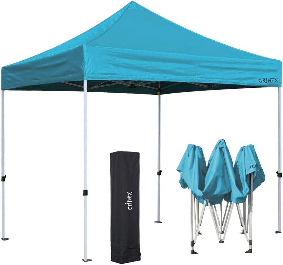 CRINEX: toldo portátil de 3 m x 3 m, Color Azul, para Exteriores, Plegable, al Instante: Amazon.es: Jardín