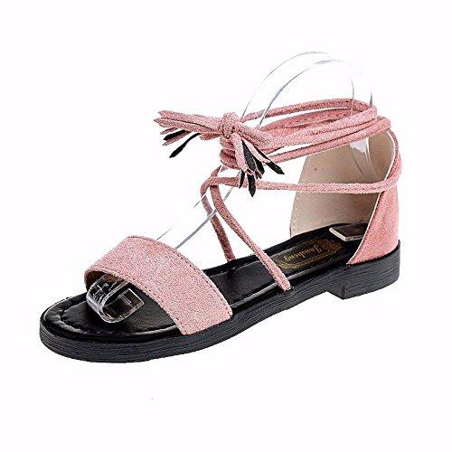 spiaggia sandali nuovo Calzature Rosa da sandali Summer XIAOGEGE Cinturino Donna wPqx8RgC