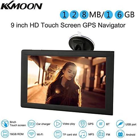 Kkmoon Auto Navigation Gps Navi 9 Zoll Tablet Android Smart System 16 Gb Tragbare Auto Stereo Audio Player Multimedia Unterhaltung Mit Wi Fi Bt Fm Usb Sd Kostenlose Karte Auto