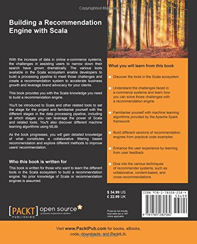 Buy Building a Recommendation Engine with Scala Book Online