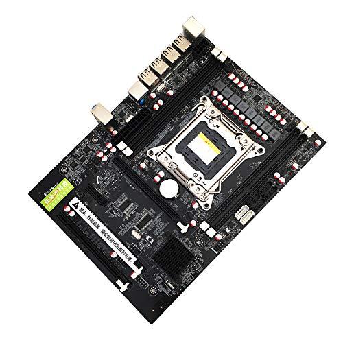 elegantstunning X79 Motherboard CPU RAM Combos X79 LGA2011 Motherboard E5 i7 CPU DDR3 Mainboard