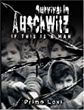 img - for Survival In Auschwitz : If This Is a Man unknown Edition by Primo Levi (2007) book / textbook / text book