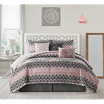 for ecrins sets pink comforter and materials most grey lodge set luxurious