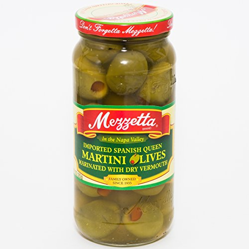 Martini Olives - 10 ounce - 6 per case.
