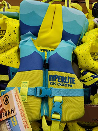 Hyperlite Wake Co Kid's Collective Type II PFD Coast Guard Approved Life Vest - Infant - Less Than 30 LBS.