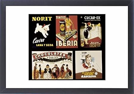 Con Marco de nieve de publicidad Norit carteles de, Tintes ...
