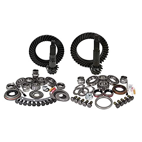 Yukon Gear YGK012 Gear and Install Kit Package (for Jeep JK non-Rubicon, 4.56 Ratio) - 4.56 Gears
