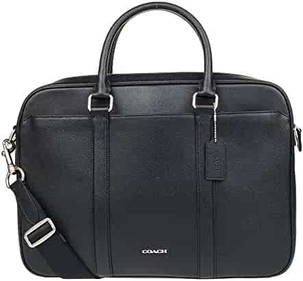 Coach Mens Business Briefcase/ Shoulder Bag Black