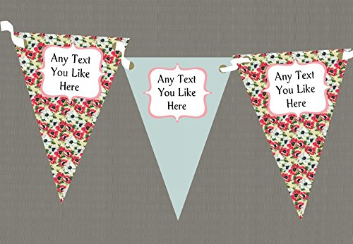 Vintage Sage Personalised Shabby Chic Garden Tea Party - Sage Zoo