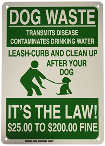 Brady 123561 Recycle and Environment Sign, Legend