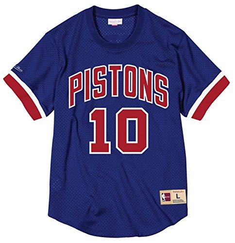 Mitchell & Ness Dennis Rodman Detroit Pistons NBA Men's Mesh Jersey Shirt